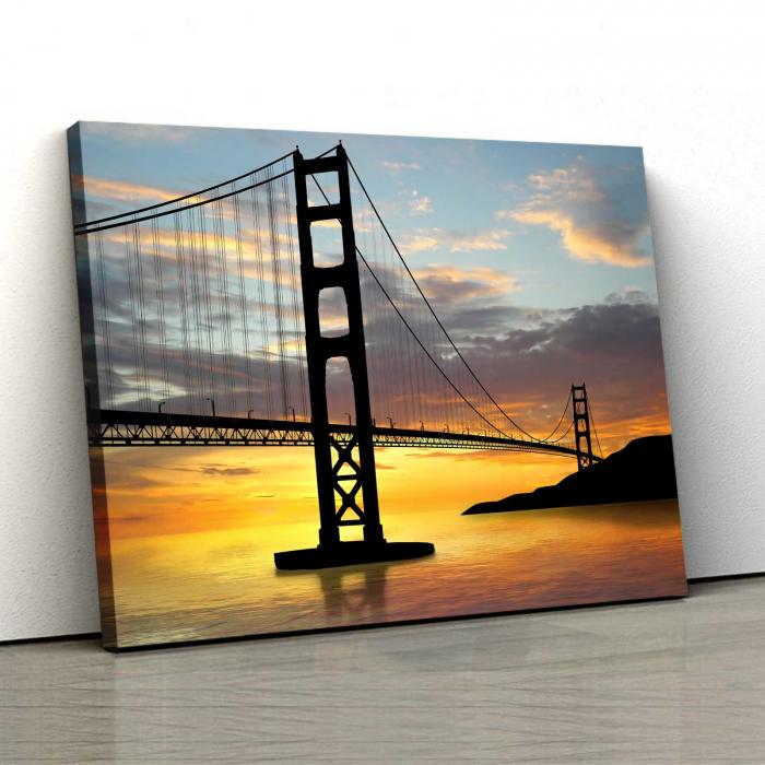 Tablou Canvas - Pod Golden Gate 0