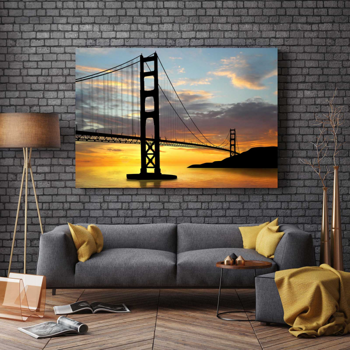 Tablou Canvas - Pod Golden Gate 2