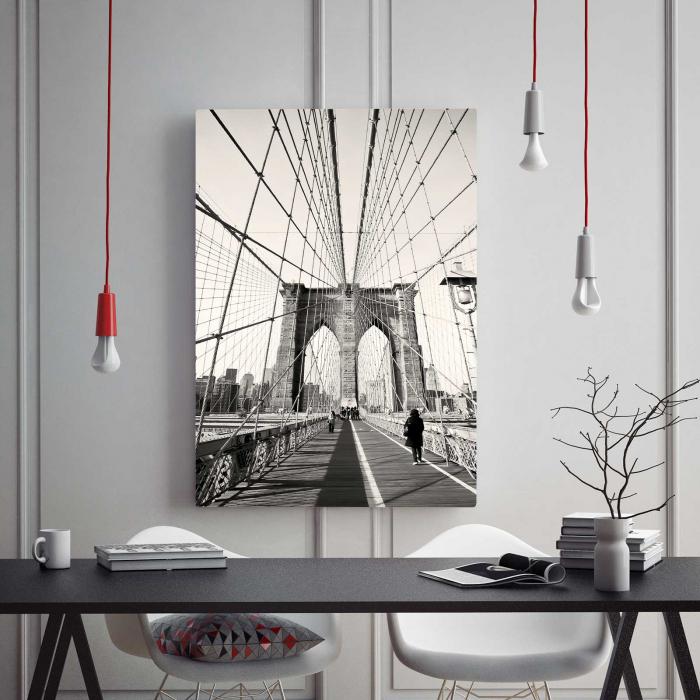 Tablou Canvas - Podul Brooklyn 1