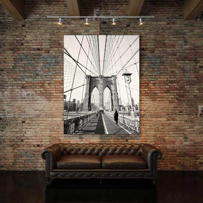 Tablou Canvas - Podul Brooklyn 2