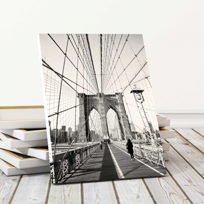 Tablou Canvas - Podul Brooklyn 0