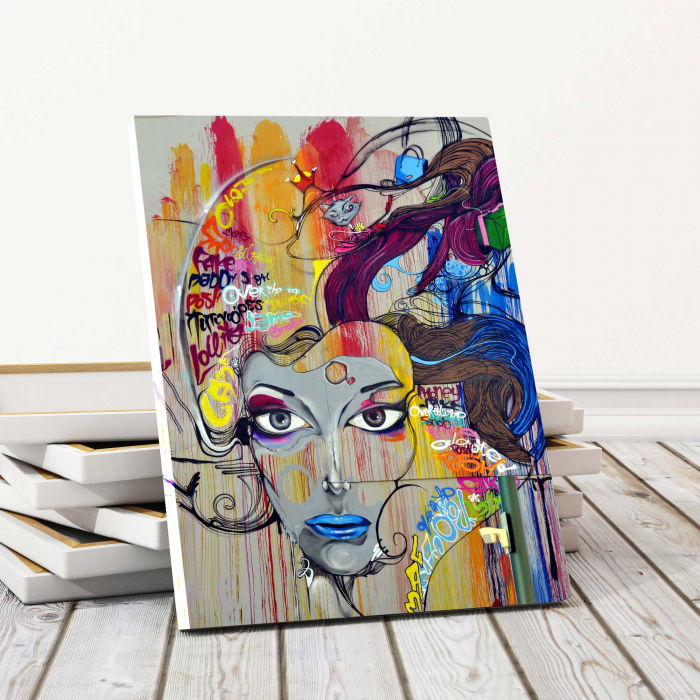 Tablou Canvas - Portret Grafic [0]