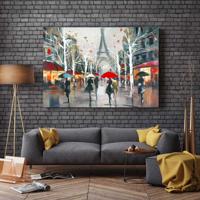 Tablou Canvas - Relaxare In Paris 2
