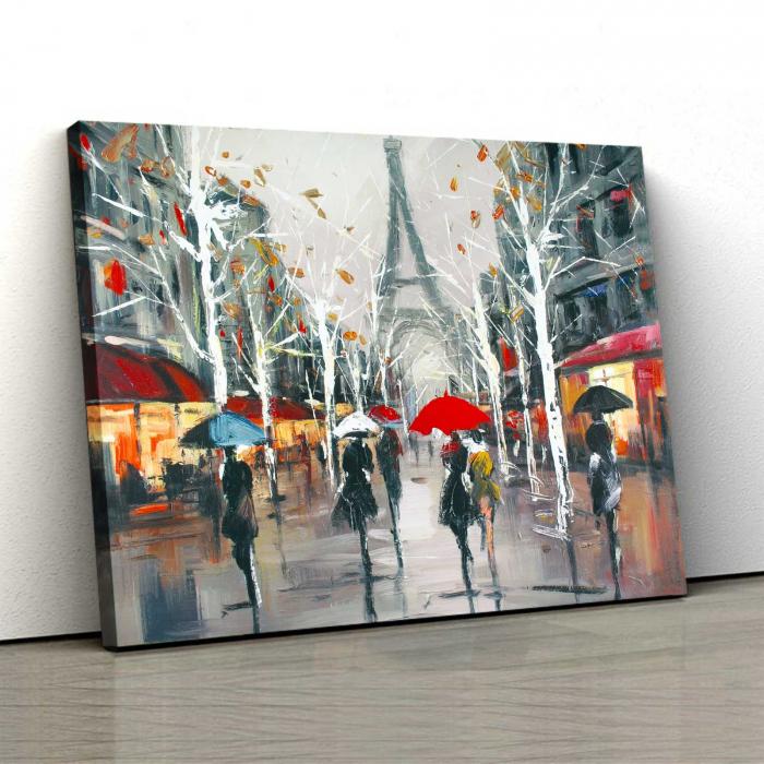 Tablou Canvas - Relaxare In Paris 0