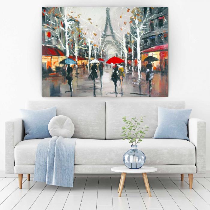 Tablou Canvas - Relaxare In Paris 1