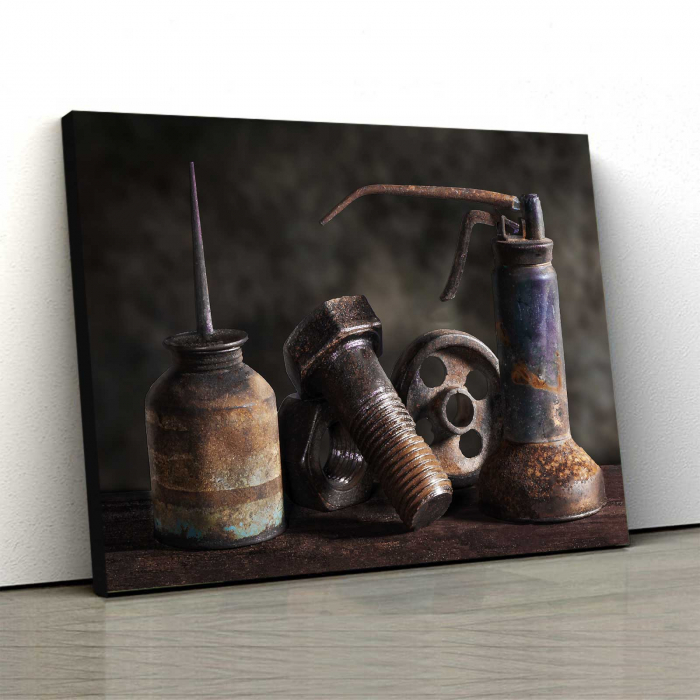 Tablou Canvas - Rusted 0
