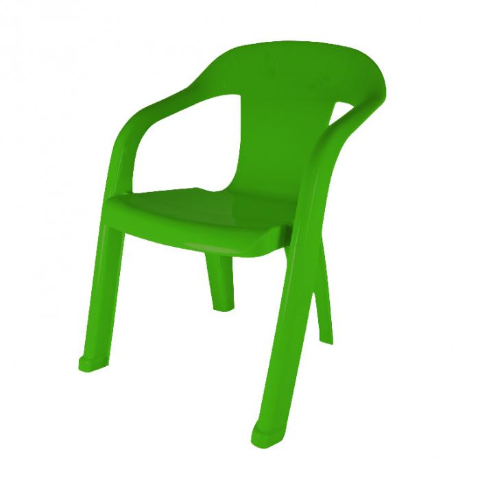 Scaun pentru copii, verde, polipropilena [0]