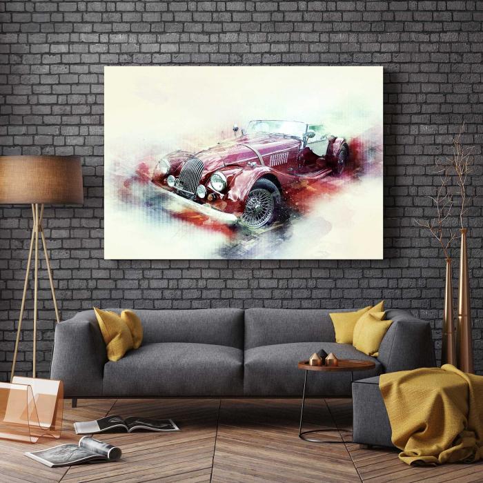 Tablou Canvas - Schita Automobil 2