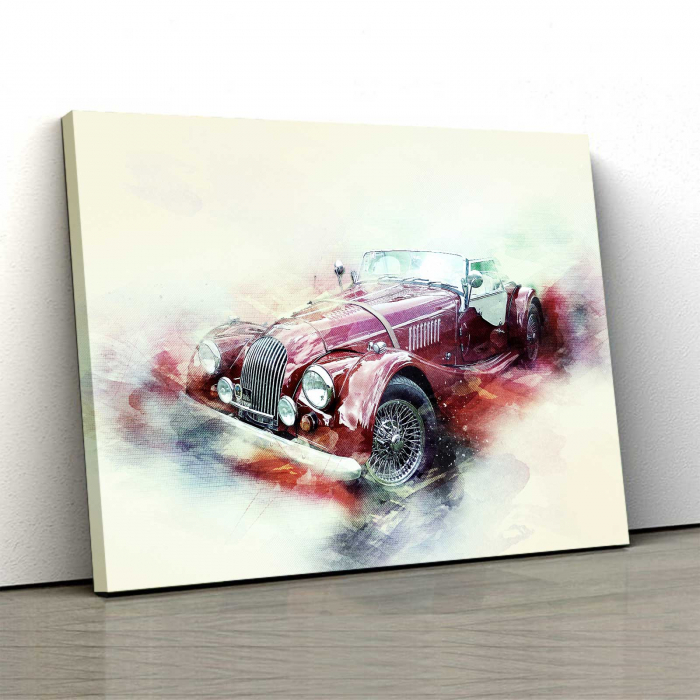 Tablou Canvas - Schita Automobil 0