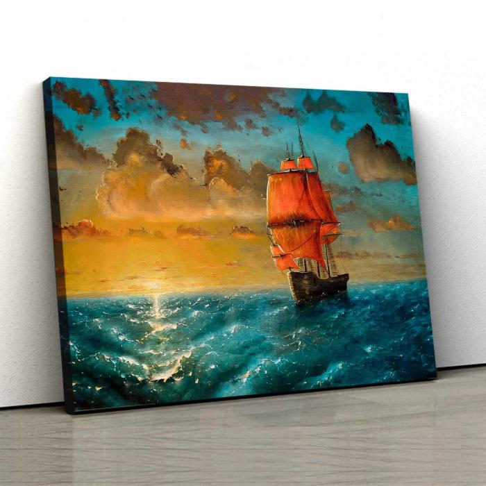 Tablou Canvas - Ship 0