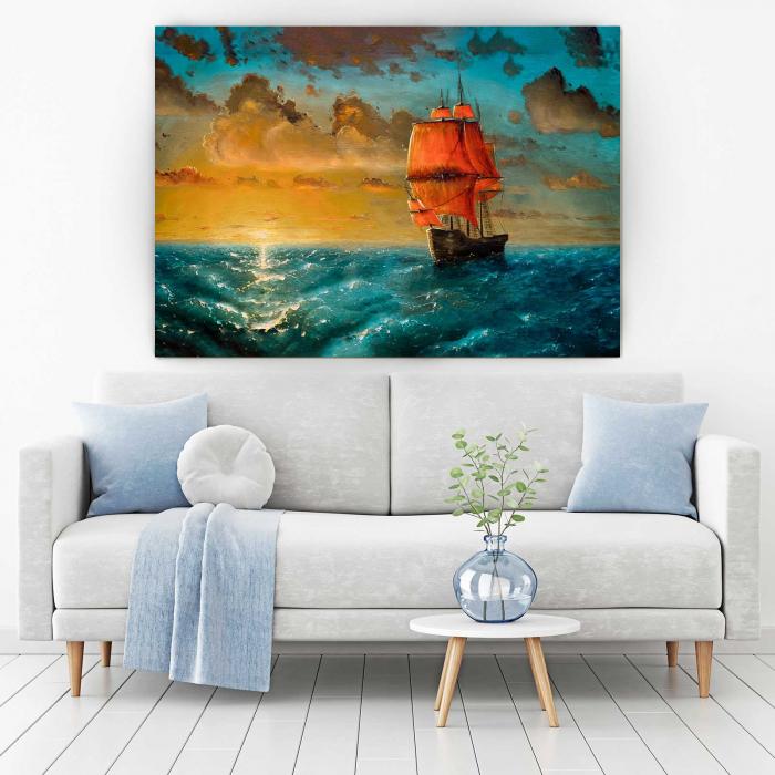 Tablou Canvas - Ship 1