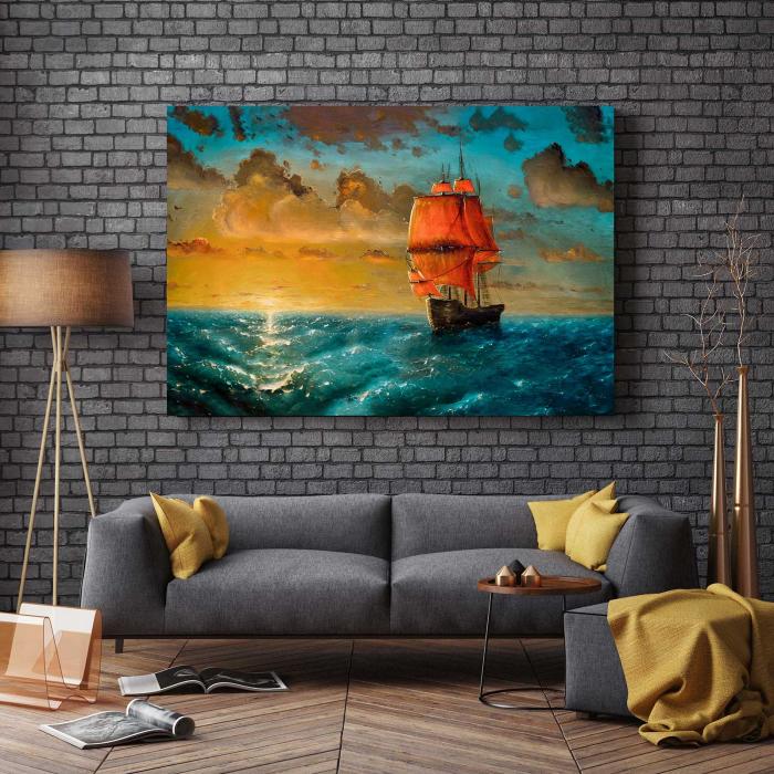 Tablou Canvas - Ship 2