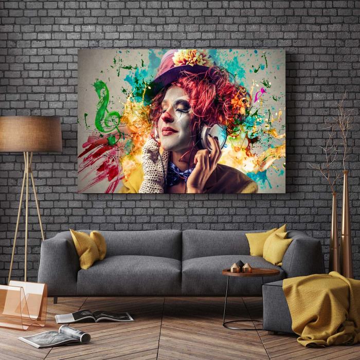 Tablou Canvas - Simte Muzica 2