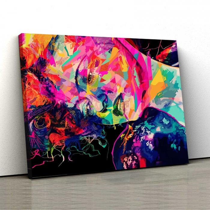 Tablou Canvas - Splash Girl 0