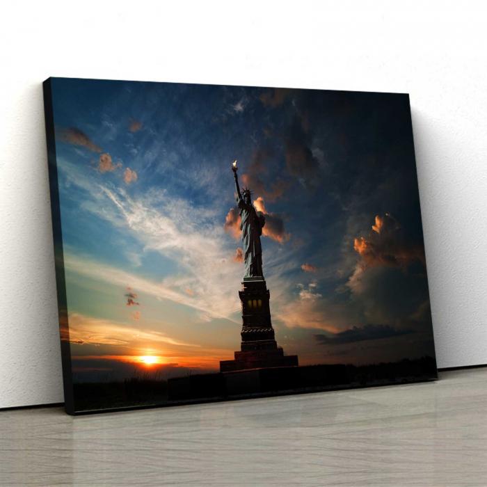 Tablou Canvas - Statuia Libertatii 0