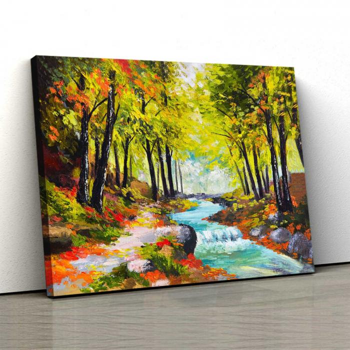 Tablou Canvas - Suflarea Toamnei [0]