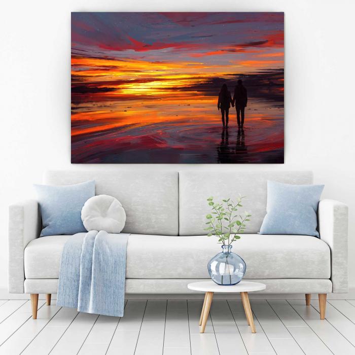 Tablou Canvas - Sunset Love 1