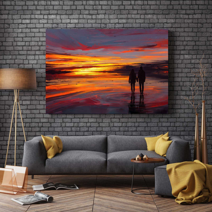 Tablou Canvas - Sunset Love 2