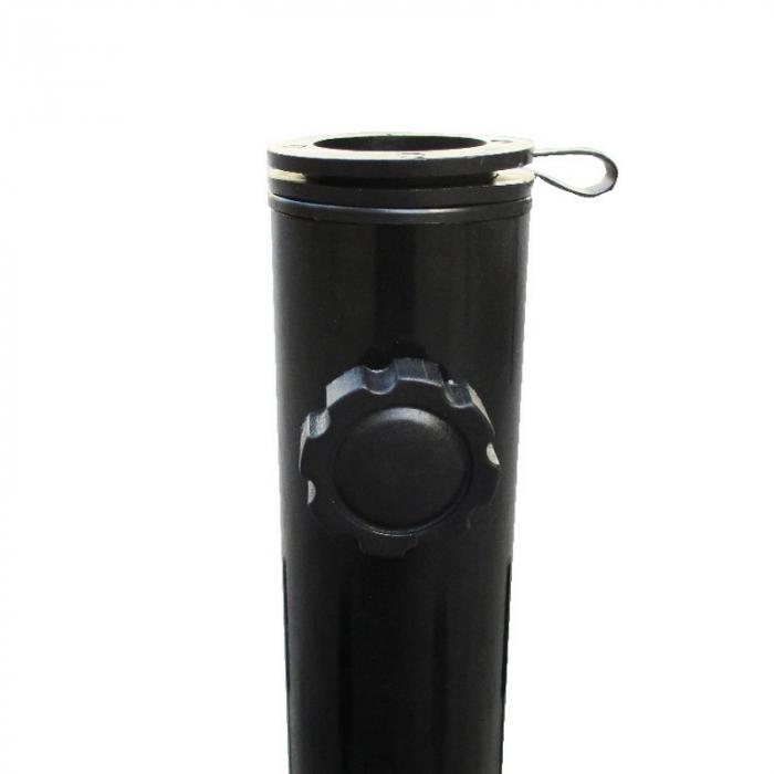 Suport umbrela pliabila, negru [1]