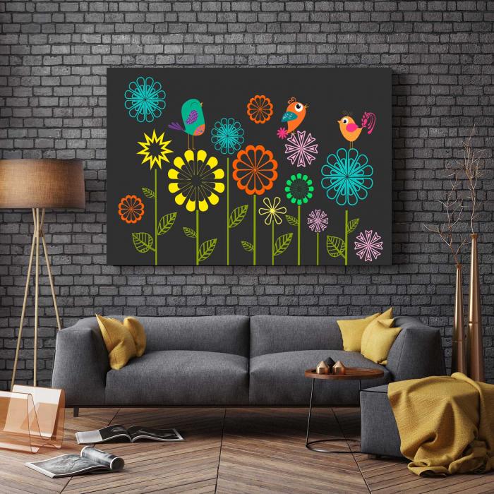 Tablou Canvas - Sweet Flowers [2]