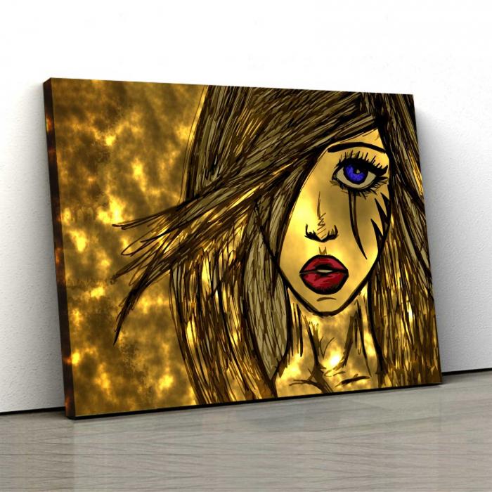 Tablou Canvas - Sweet Girl 0