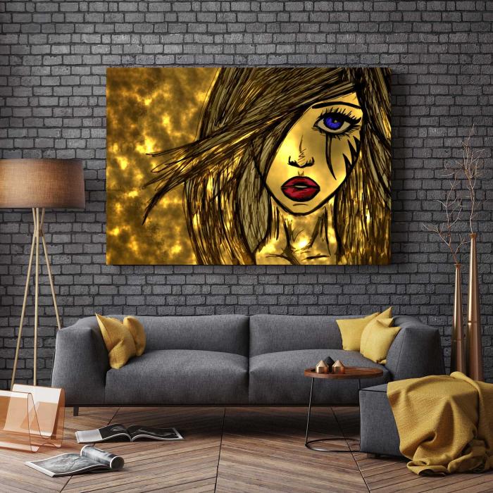 Tablou Canvas - Sweet Girl 2