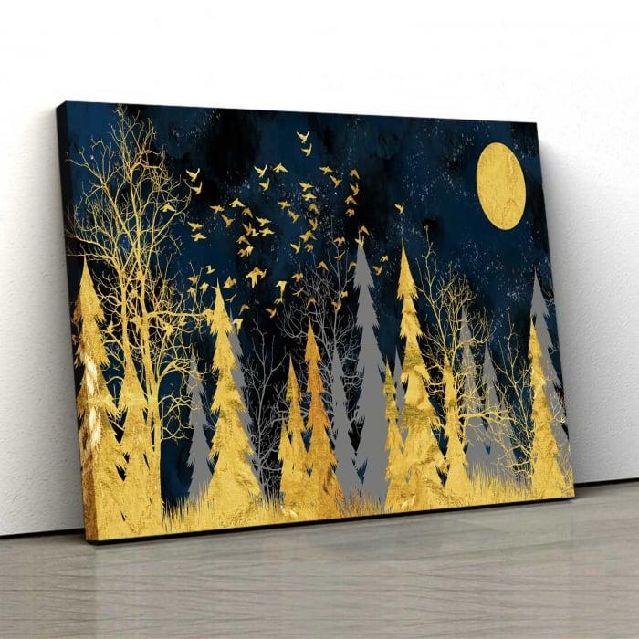 Tablou Canvas - Gold Tree 0