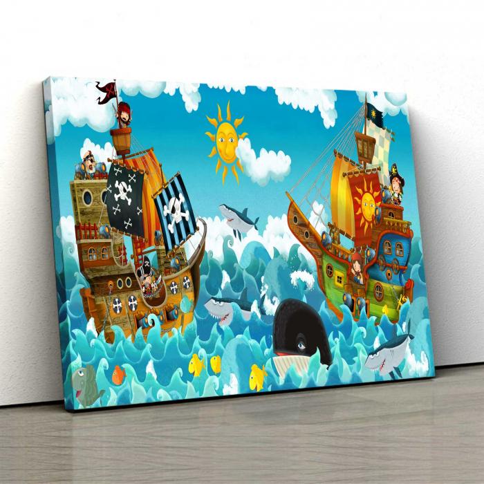 Tablou Canvas Copii - Happy On Sea [0]
