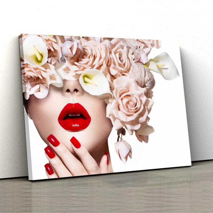 Tablou Canvas - I Love Flowers 0