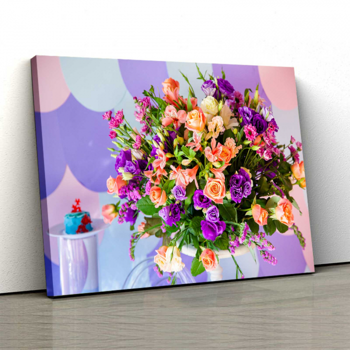 Tablou Canvas Floral Bloom 0