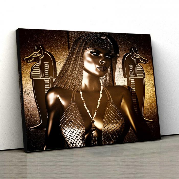 Tablou Canvas - Modern Nefertiti 0