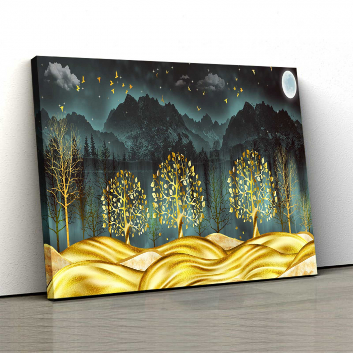 Tablou Canvas - Gold Dream [0]