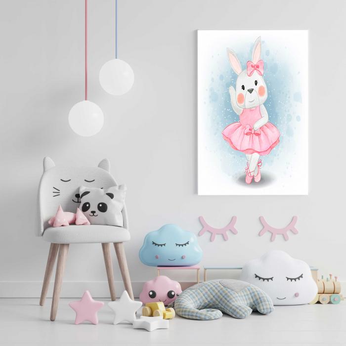 Tablou Canvas Copii - Hello Bunny 1