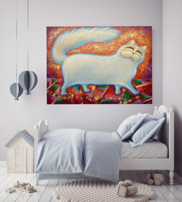 tablou-canvas-copii-hello-cat-cadouri [2]