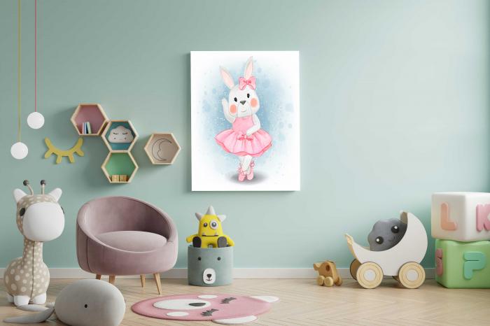 Tablou Canvas Copii - Hello Bunny 2