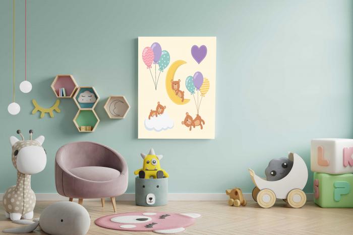 Tablou Canvas Copii - Sleep Bear 1