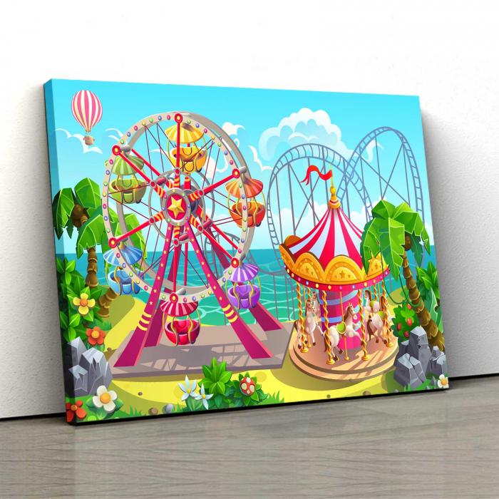 Tablou Canvas Copii - Kids World 0