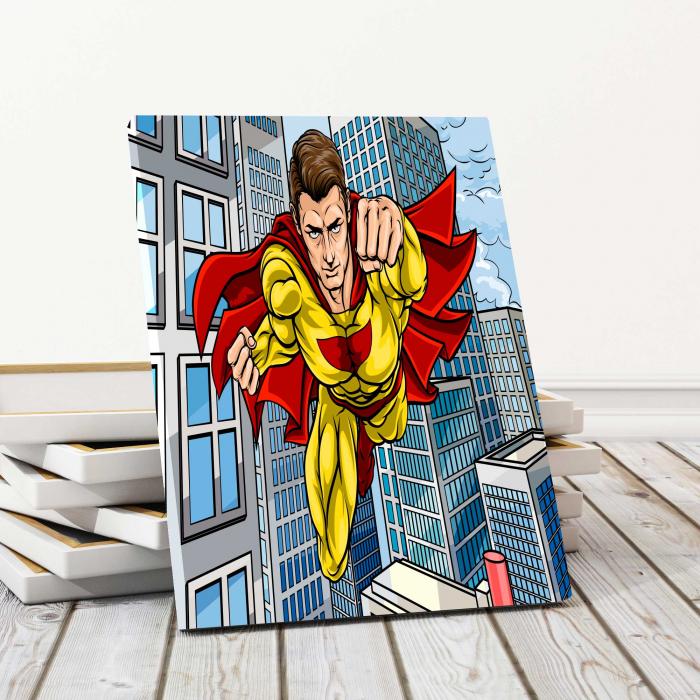 Tablou Canvas Copii - Superman 0