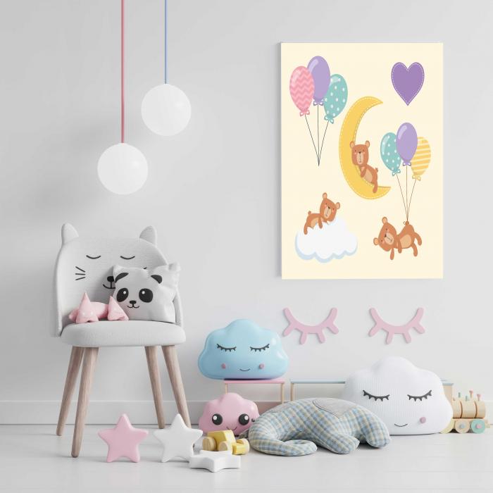 Tablou Canvas Copii - Sleep Bear 2