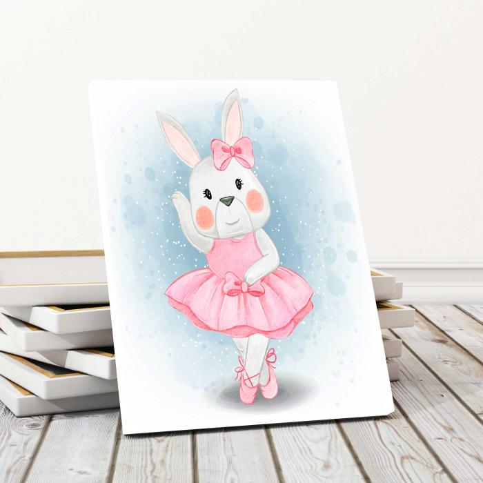 Tablou Canvas Copii - Hello Bunny 0