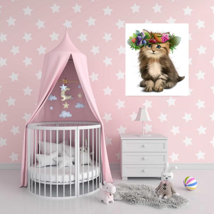 tablouri-copii-pictate-animale-kitty [2]