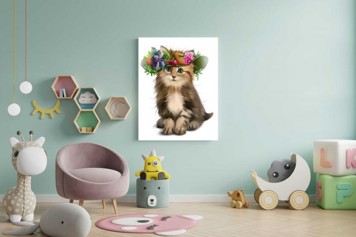 tablouri-copii-pictate-animale-kitty [1]