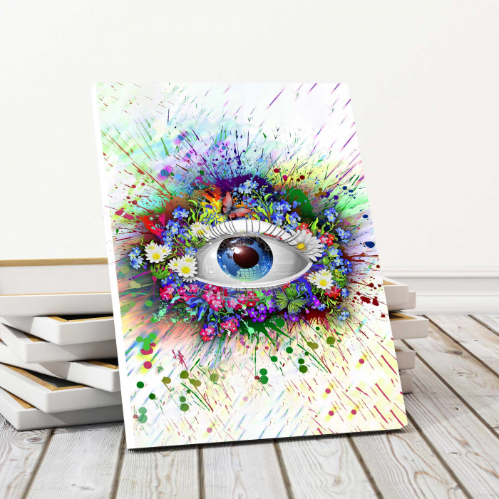 Tablou Canvas - The Eye [0]