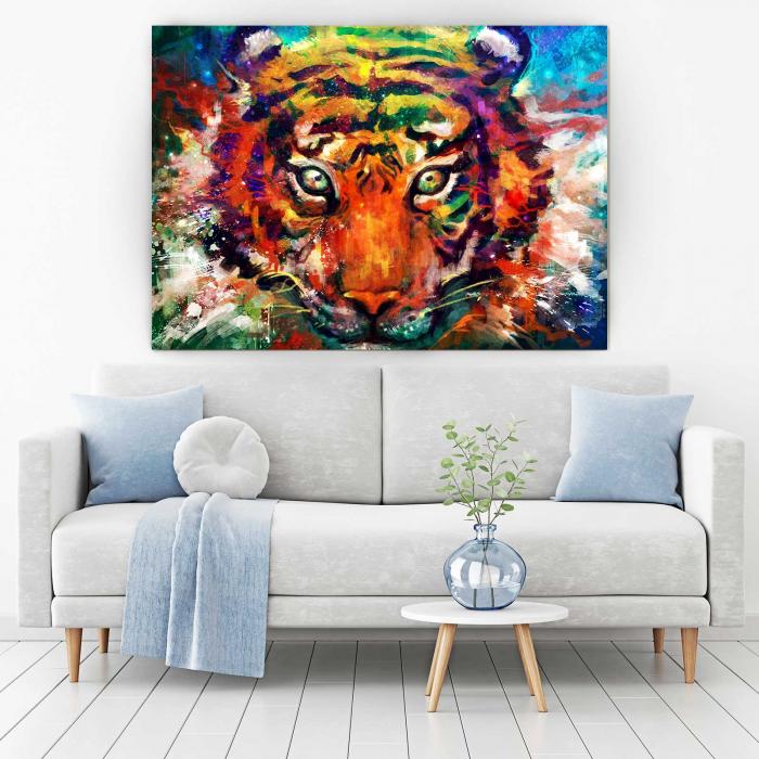 Tablou Canvas - Tiger 1
