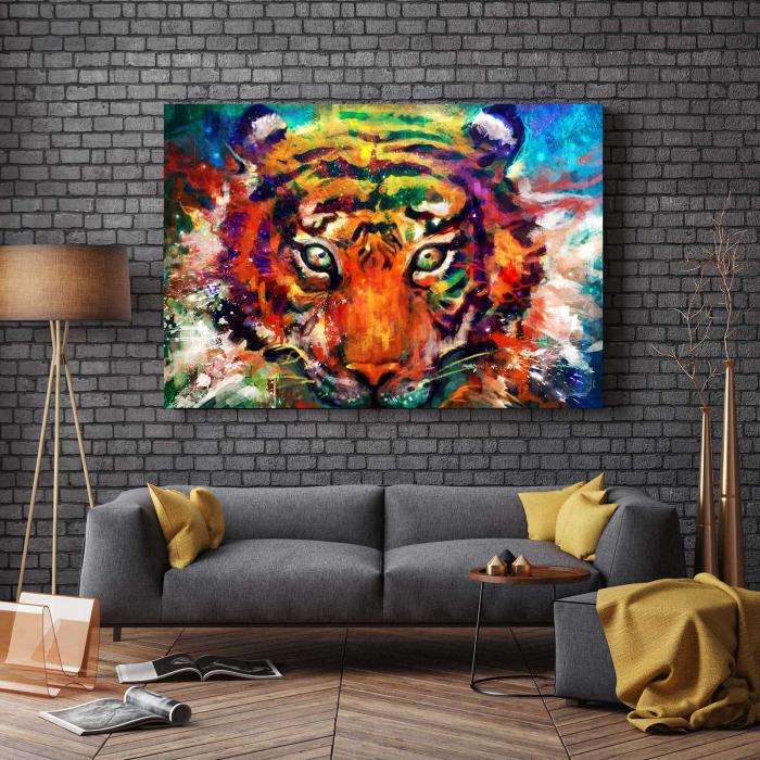 Tablou Canvas - Tiger 2
