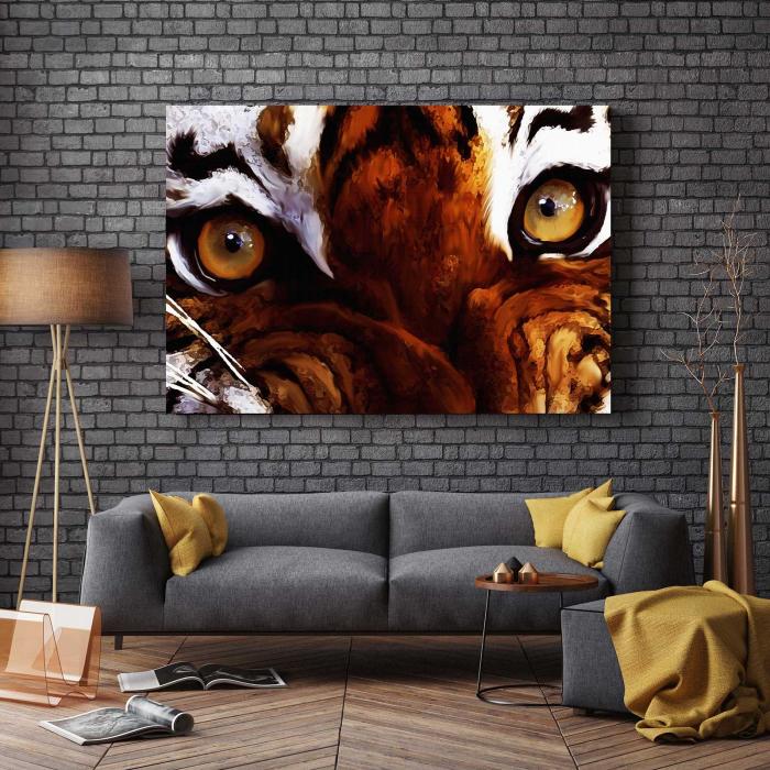 Tablou Canvas - Tiger Eyes [2]