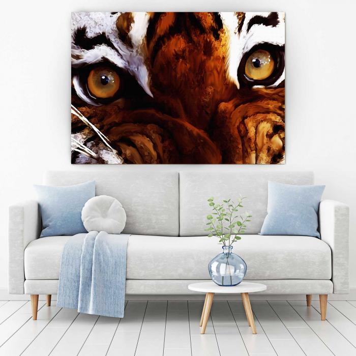 Tablou Canvas - Tiger Eyes [1]