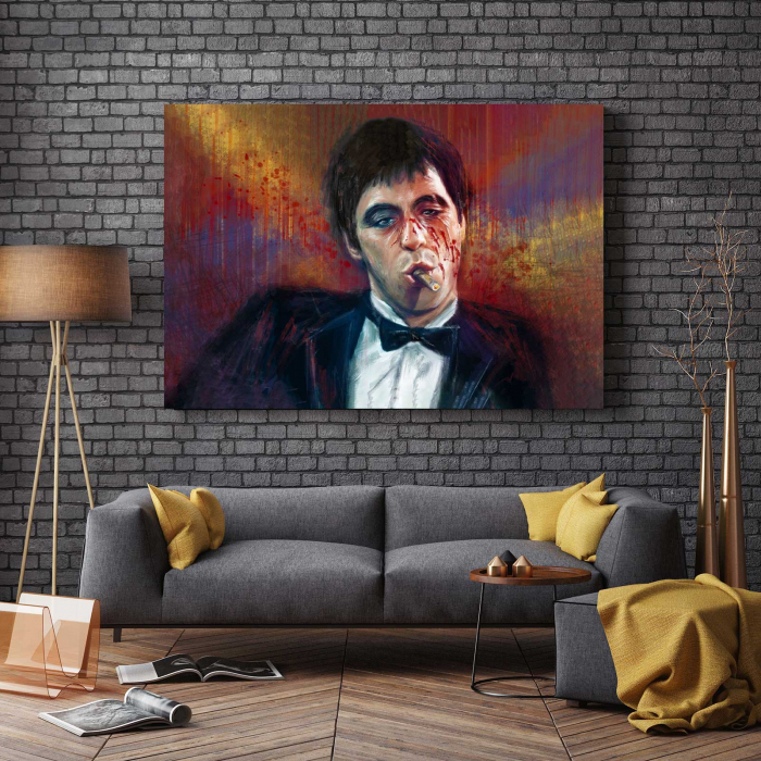 Tablou Canvas - Tony Montana 2