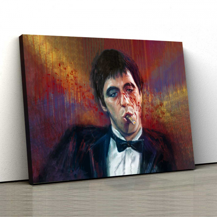 Tablou Canvas - Tony Montana 0