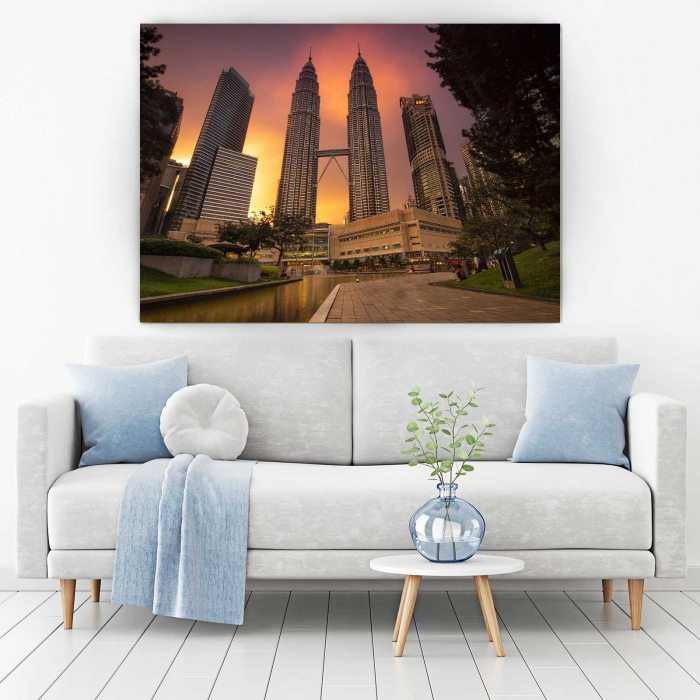 Tablou Canvas - Towers 1